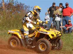 Clifton Beasley won points battle in 4X4 Lites, photo by Harlen Foley ATVriders.com