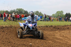 Chad Weinen finished his first AMA sanctioned event of 2013 with an overall win.