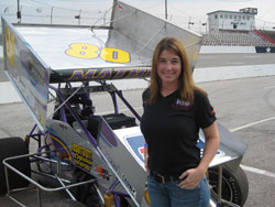 2010 will be Wendy Mathis' second season as a team owner