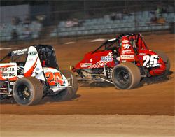Wendy Mathis was amazed at how comfortable she felt driving on dirt for the first time in Craig Skene's car