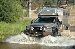 This SEMA featured Turtle Expedition truck can go just about anywhere.