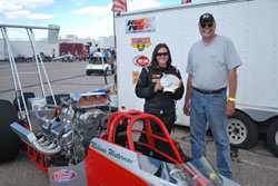 Westerman missed winning the final in Fallon by a heart-stopping two-hundredths of a second, running a 7.634 ET on a 7.65 dial.