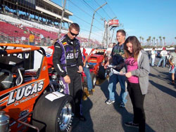 Two-time Focus Midget champion Tim Skoglund has been very close to three wins this season, only ill-timed race luck prevented him from closing the deal.