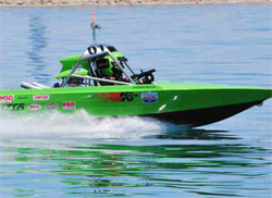 Wicked Racing dominated the Super Modified Class in the United States Sprint Boat Racing Association Series in 2009