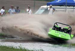 G-Force speeds make Jet Sprint Boat Racing feel like a roller coaster with a throttle on steroids