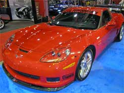 Modified Corvette Z06 at SEMA 2007