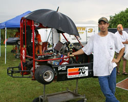 Jonathon Little uses K&N X-Stream filter RX-3800 on his Kart
