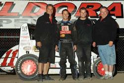 Eldora Speedway4 Crown Midget Nationals Winner Wilke-Pak Motorsports