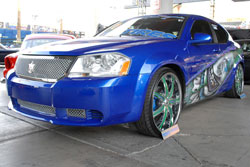 When the 2009 Dodge Avenger isn't turning heads at car shows like SEMA, it's stopping traffic on the street.
