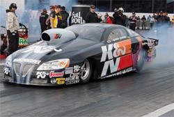 K&N Filters Pontiac GXP make it's professional debut at NHRA Full Throttle Drag Racing Winternationals