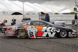 K&N Oil Filter Design on K&N Filters Pontiac GXP stands out at Winternationals in Pomona, California