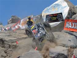 Dirt flew everyhwere at the Perris, California We Rock event