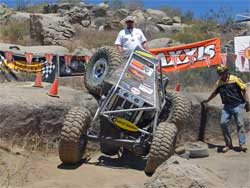 Team Waggoner had great runs over the boulders at We Rock USA