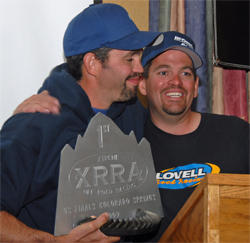 The 2009 XRRA National Championship belongs to brothers Brad and Roger Lovell, photo by Jud Leslie