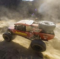 Adler and Team 4 Wheel Parts racing in the Baja 1000