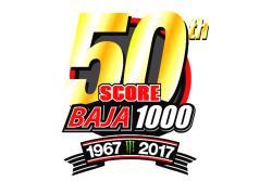 Baja 1000 50 years logo
