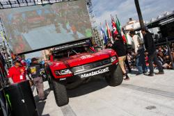 The Vildosola Racing / Stronghold Motorsports trophy truck before the Baja 1000