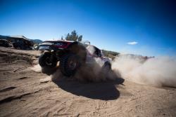 The Vildosola Racing / Stronghold Motorsports trophy truck racing in the Baja 1000