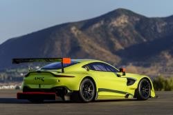 The 2018 Vantage GTE could give Ferrari a run for the money as the best-looking car on the track