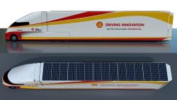 The solar panels are capable of generating 5000 watts of electricity that can help run the truck