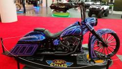 Harley-Davidson Fatboy New York IMS K&N Award winner side view