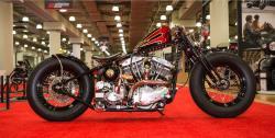 J&P Ultimate Builder Custom Bike Show Modified Retro winner at the New York IMS