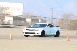 Photo of Greg Nelson out on track , your leader in Modern Muscle.