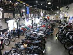 A view of the Buddy Stubbs Motorcycle Museum in Cave Creek, Arizona