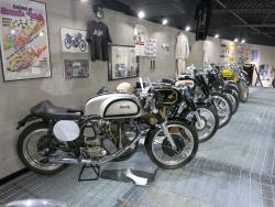 British classics at the Buddy Stubbs Motorcycle Museum in Cave Creek, Arizona