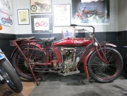 1913 Indian at the Buddy Stubbs Motorcycle Museum in Cave Creek, Arizona