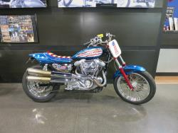 Evel Knievel Harley at the Buddy Stubbs Motorcycle Museum in Cave Creek, Arizona