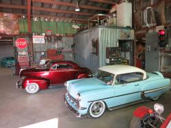 Cars at the Dwarf Car Museum in Maricopa, Arizona