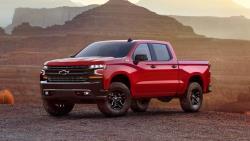 2019 Chevrolet Silverado Trail Boss front
