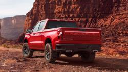 Chevrolet Silverado Trail Boss rear