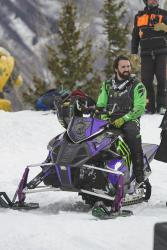 Brett Turcotte wins the X Games Speed and Style event in Aspin, Colorado