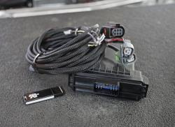 K&N ECI system software consists of the software program, ECU, and wiring harness