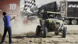 Mitch Guthrie Jr. winning the King of the Hammers desert race in California