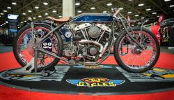Harley-Davidson® 1974 Shovelhead won the J&P King of the Builders
