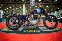 1965 Custom BSA won the big prize in the Mod Retro Class of the IMS