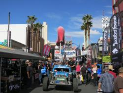 Activity at the Mint 400 contingency in Las Vegas, Nevada