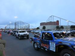 The desert trucks at the Mint 400 in Primm, Nevada