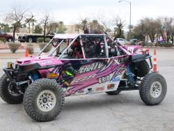Katie Vernola at the Mint 400 in Primm, Nevada