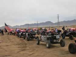 Race start for the Mint 400 in Primm, Nevada