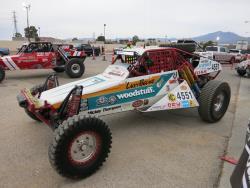 K&N racer at the Mint 400 contingency in Las Vegas, Nevada