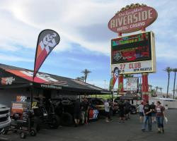 K&N at the UTVWC vendor village in Laughlin, Nevada