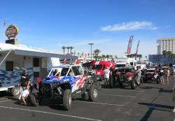 Tech inspections at the UTVWC Contingency in Laughlin, Nevada