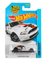 K&N's 2010 Ford Shelby GT500 Mustang race car Hot Wheels die-cast