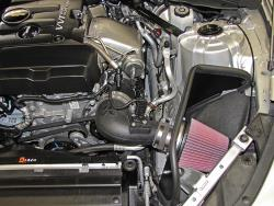 The 63-3105 air intake system after installation