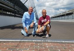 Larry and Brian Forrester at Indianapolis Motor Speedway