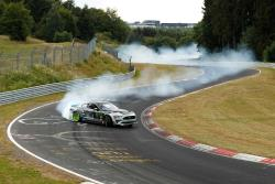 Vaughn Gittin Jr. drifting the Nürburgring
